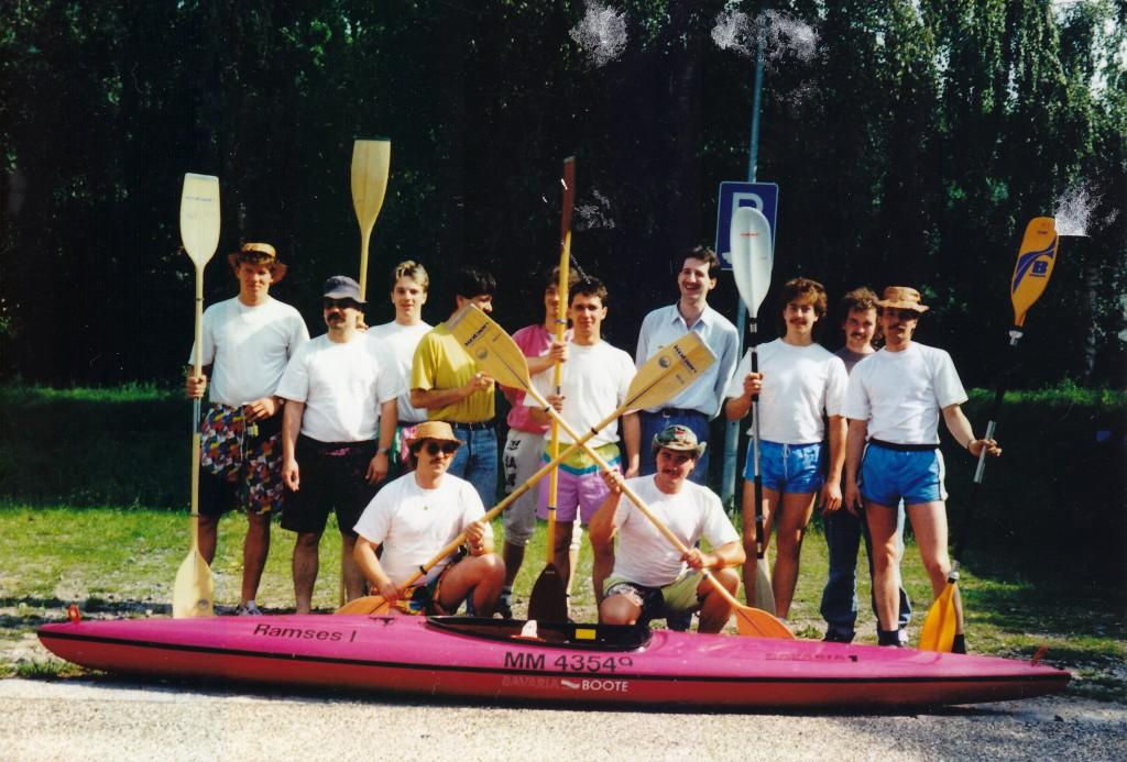 Vereinsfahrt im Jahr 1991