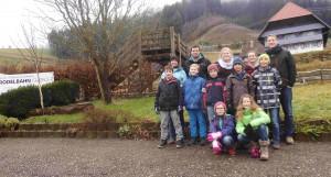Wickinger-Jugend beim Hüttenaufenthalt im Schwarzwald